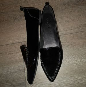 Aldo Frantoto Pointed Toe patent Leather Flat